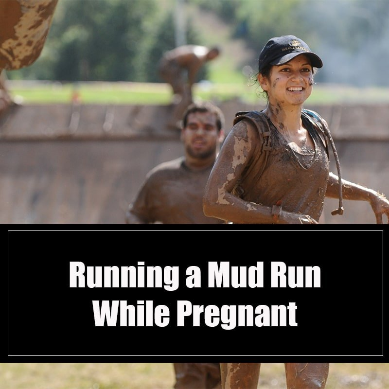 Running a Mud Run While Pregnant Image