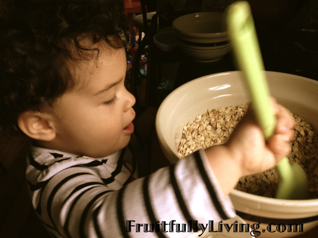 helping granola
