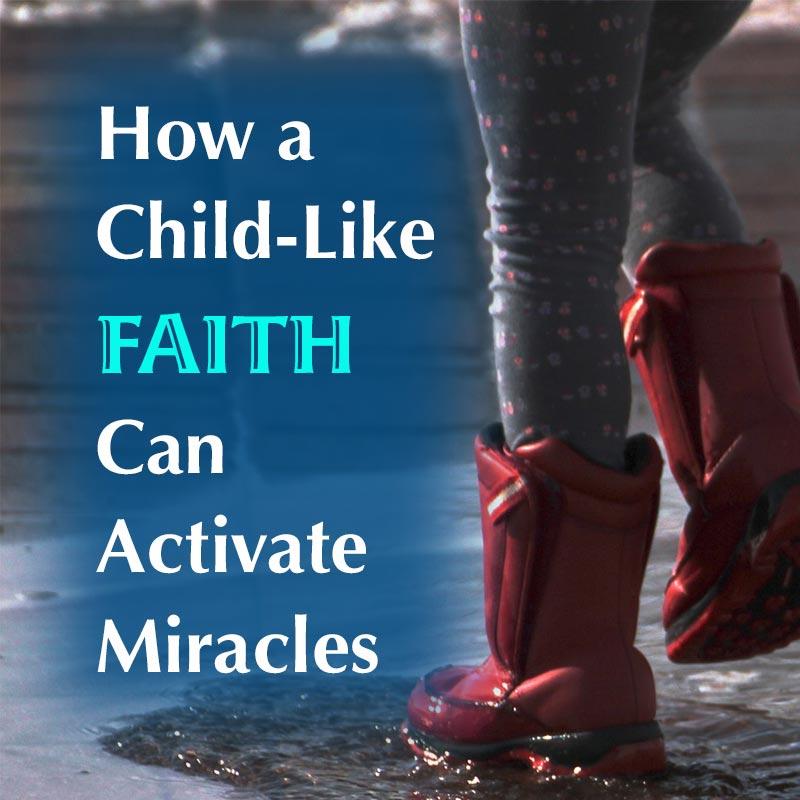 Child-like faith image