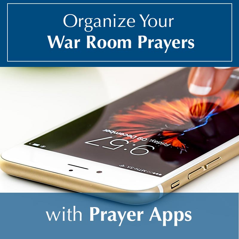 Organizing war room prayers image