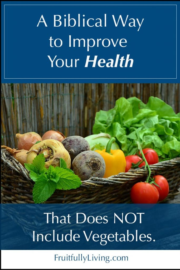 Biblical, Easy Way to Improve Health Image
