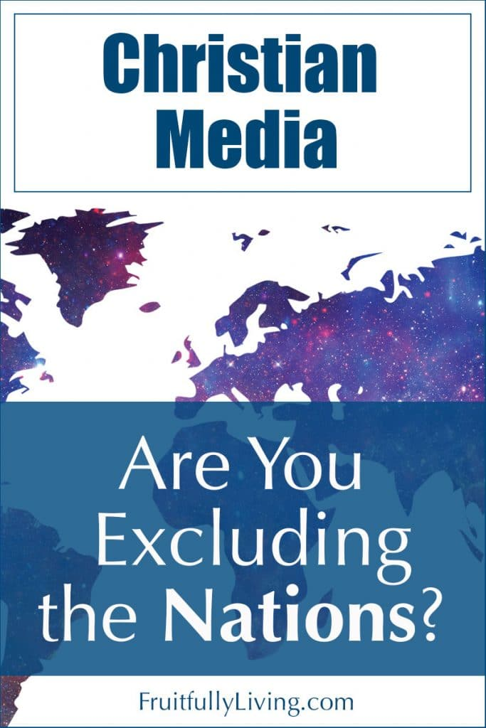 Lack of Cultural Diversity in Christian Media Image