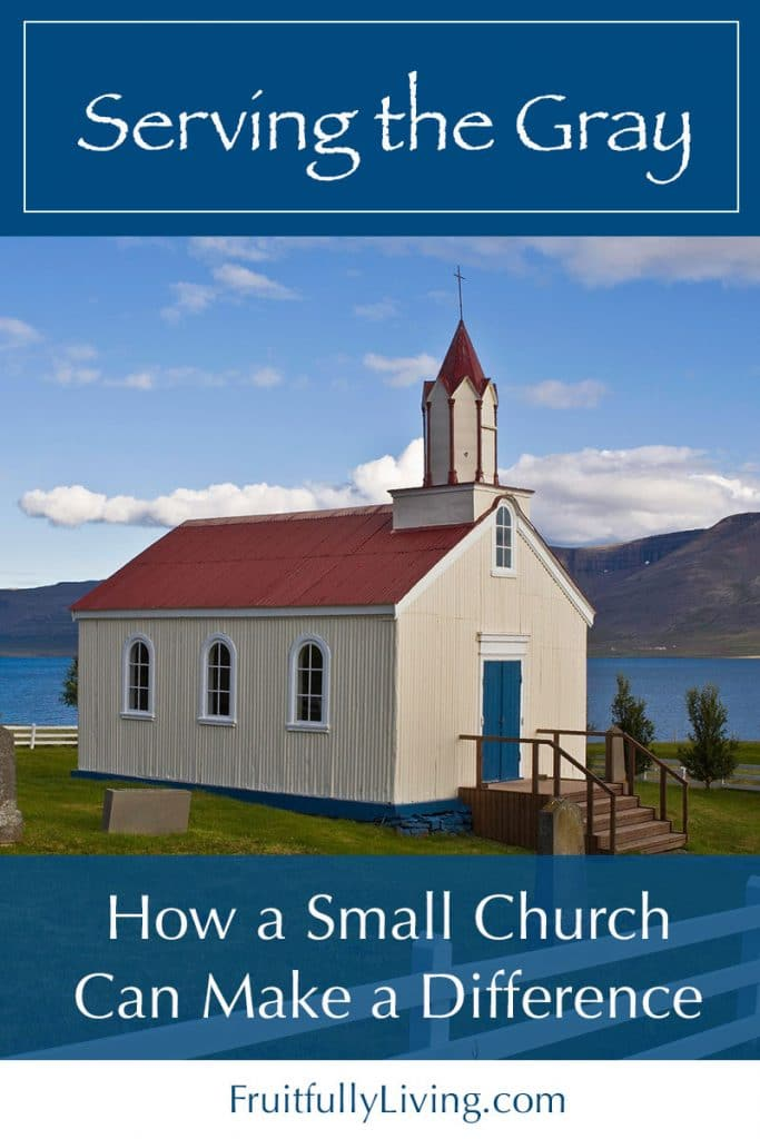 small church can make a difference image