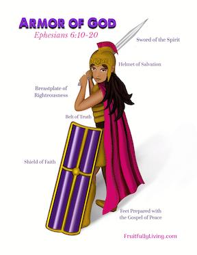 Girls Armor of God