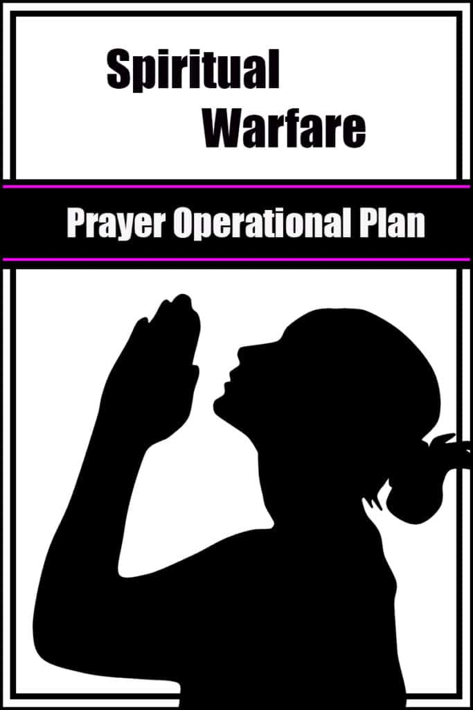 battle plan for prayer Image