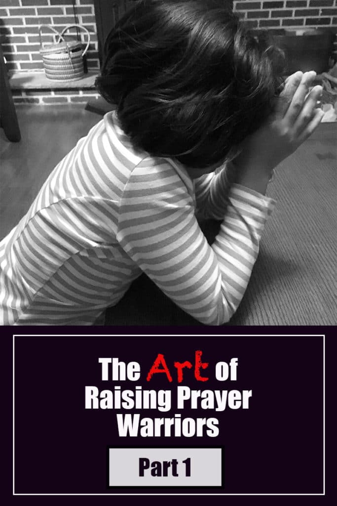 Raising Prayer warriors and how to teach a child to pray image