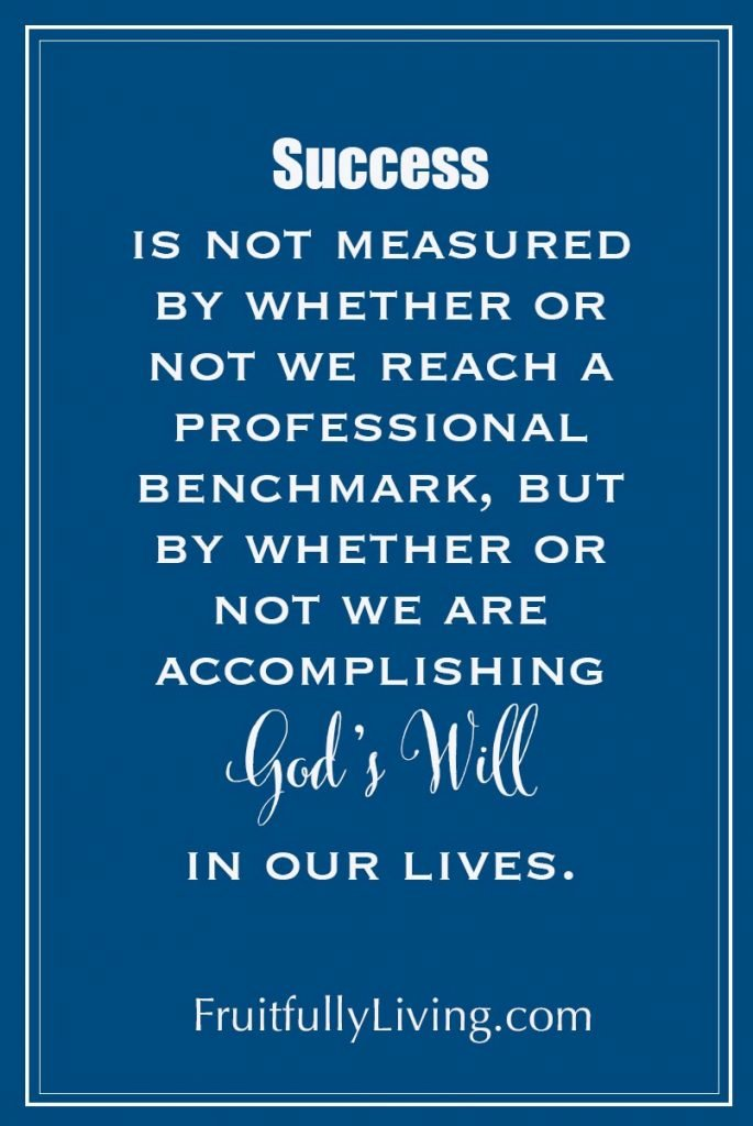Christian Success Inspirational Quote
