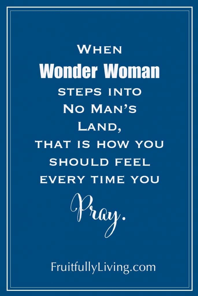 Prayer warrior woman inspirational quote