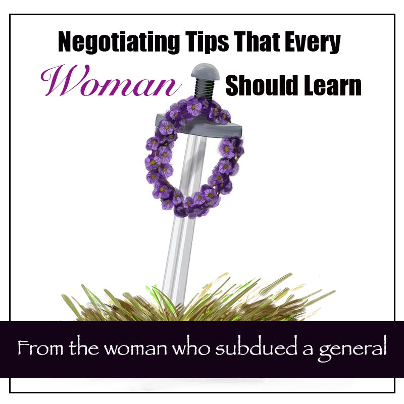 how to negotiate from the woman of Abel image