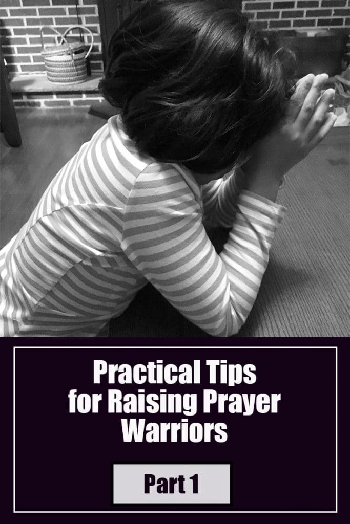 Practical Tips for teaching kids to pray image