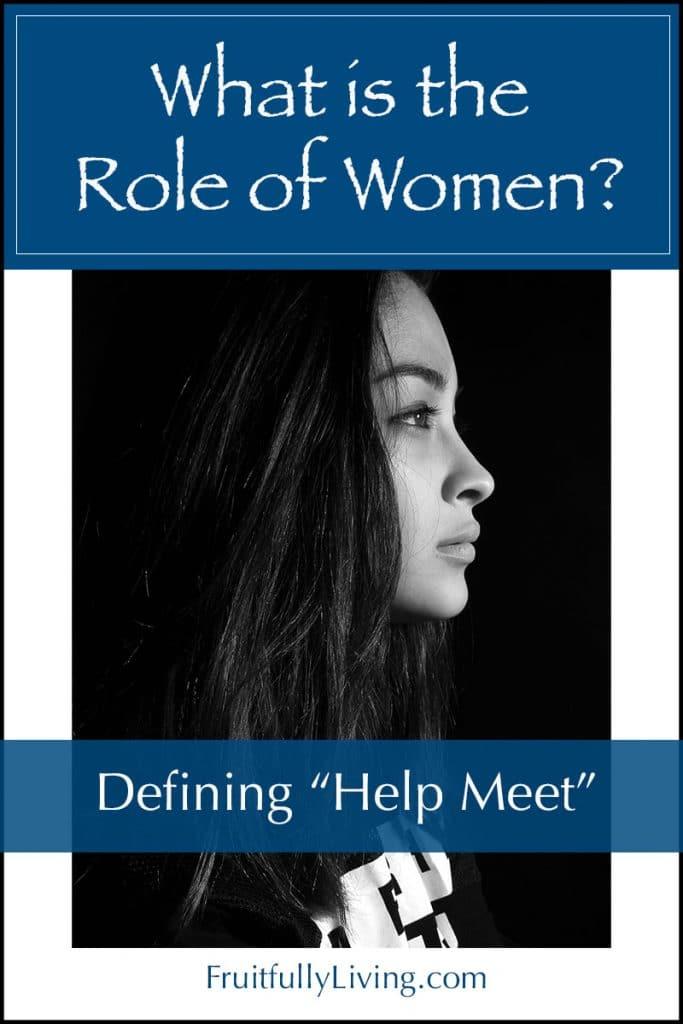 Genesis 2:18, What is Help Meet or helpmeet image