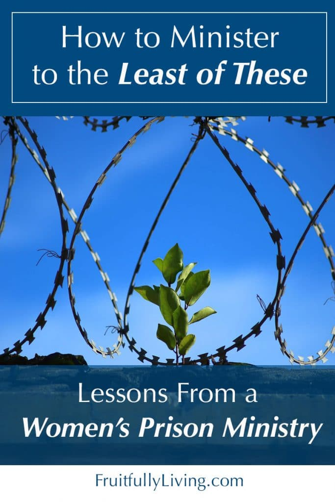 Lessons from a Women's Prison Ministry Image