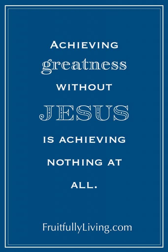 Achieving Greatness, Success Quote