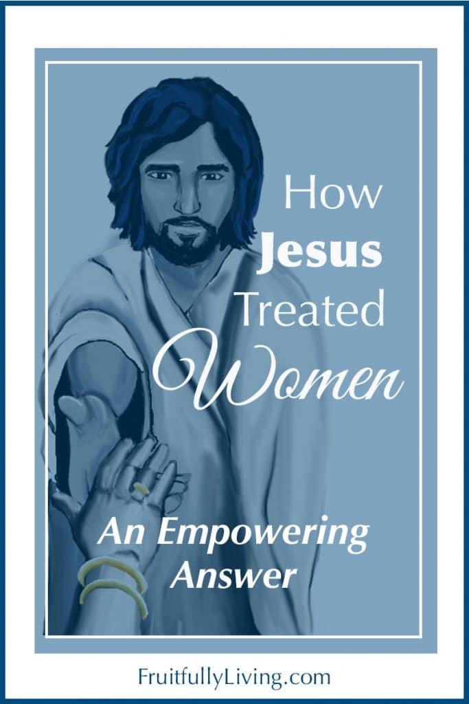 How Did Jesus Treat Women Image