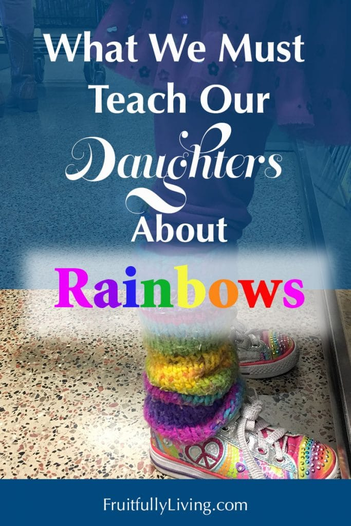 What is the meaning of rainbows in the Bible for our daughters image