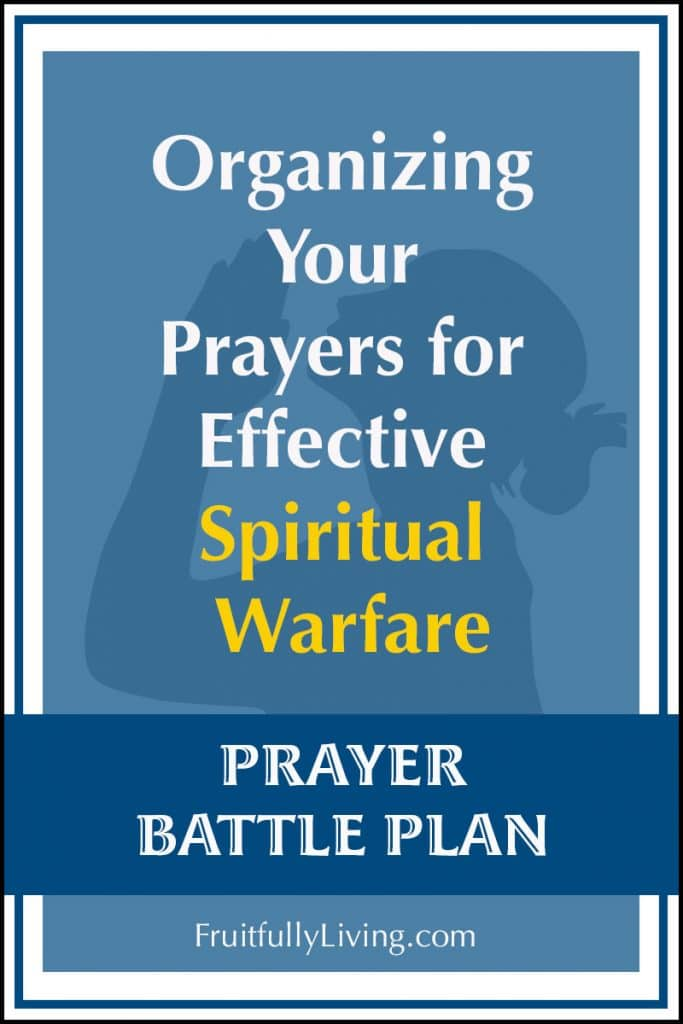 Prayer Battle Plan