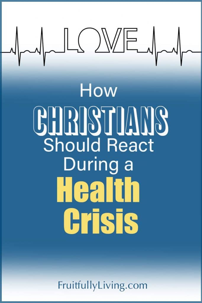 How Christians Should React During a Health Crisis Image