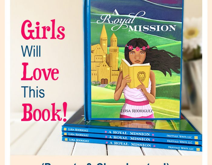 A Royal Mission: Christian Book for Girls Image