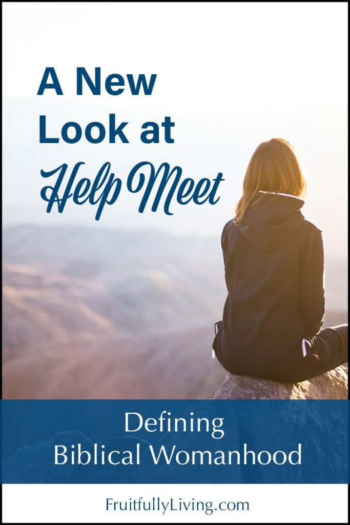 What is the meaning of helpmeet image