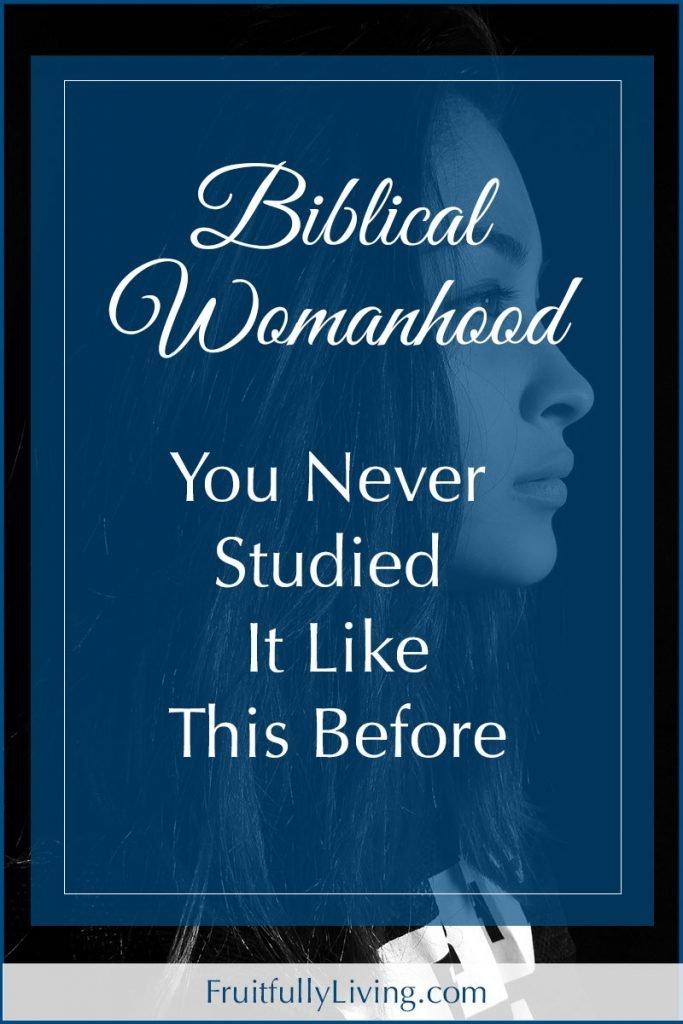 What is biblical womanhood