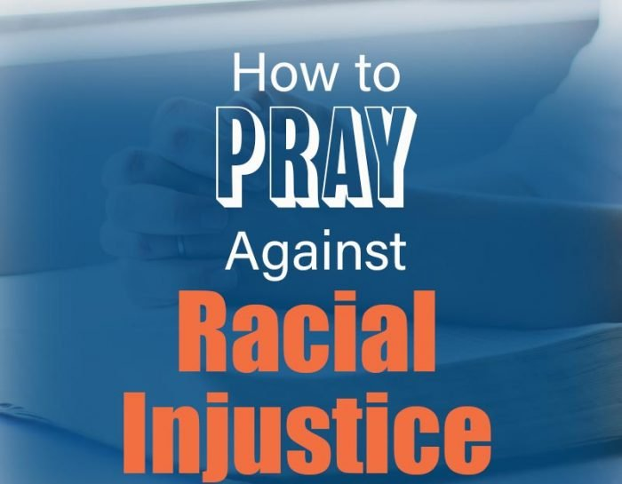 How to Pray against racism image