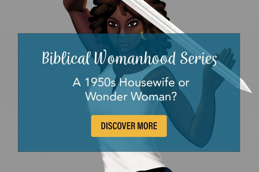 Biblical womanhood series with beautiful black woman