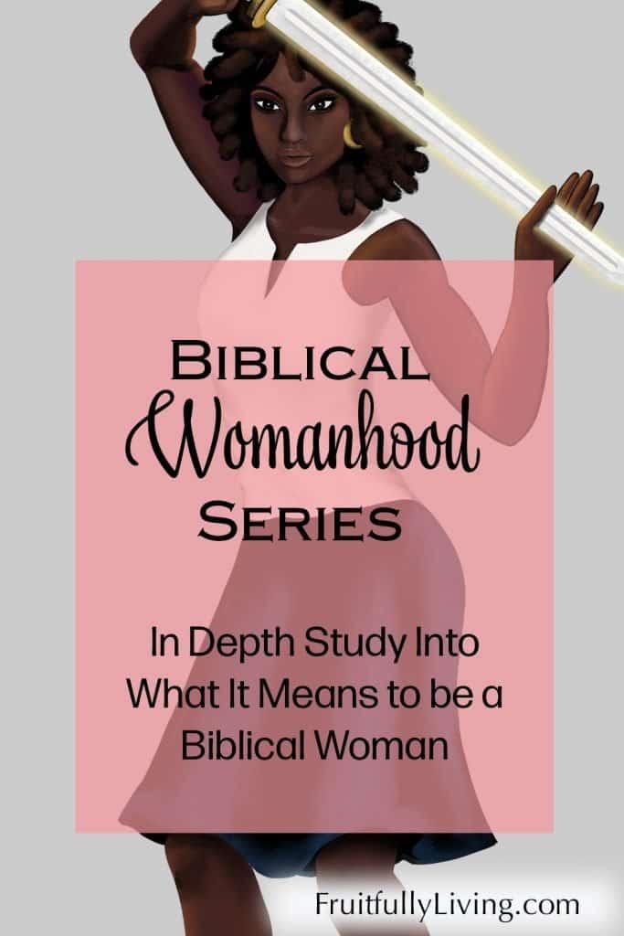 Biblical womanhood in depth study image