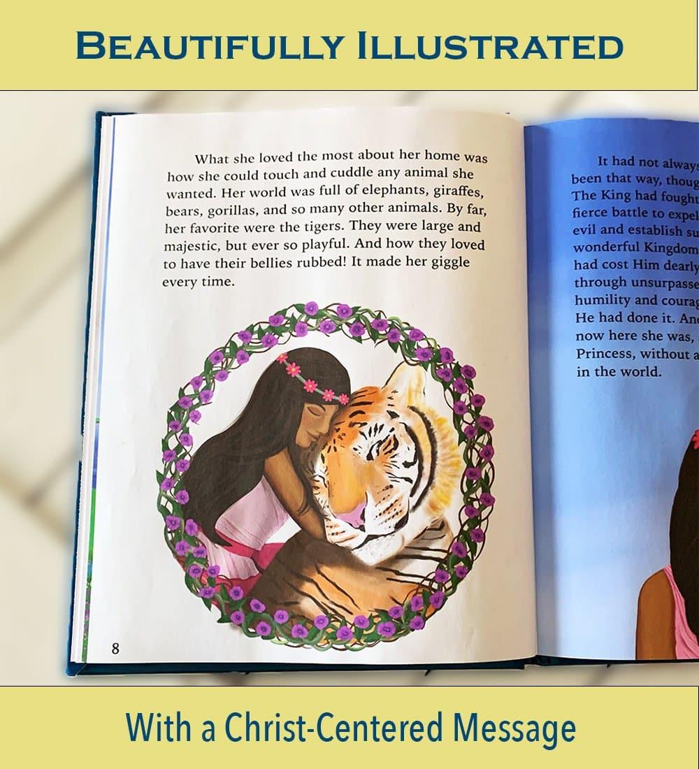 Christian fairytale book illustrations