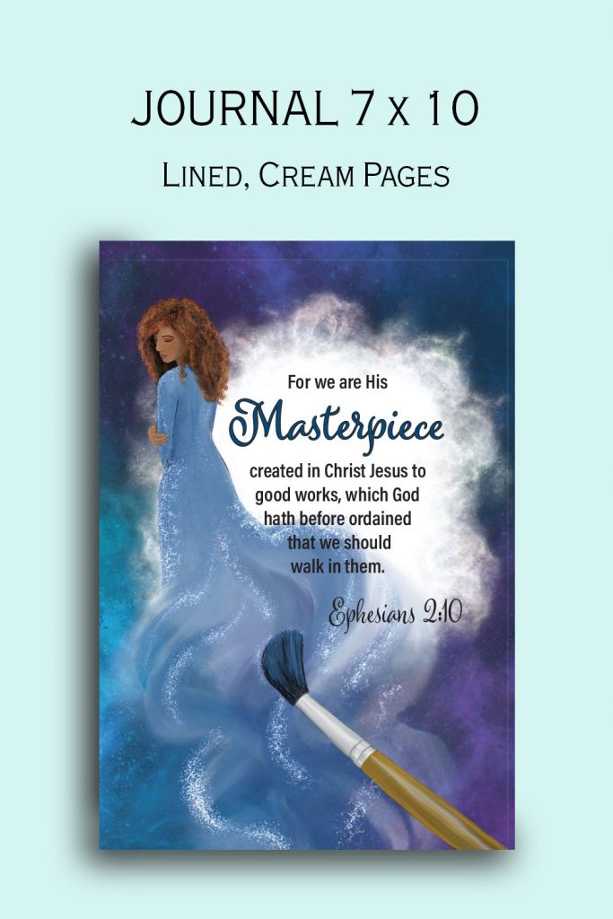 His Masterpiece Journal for women