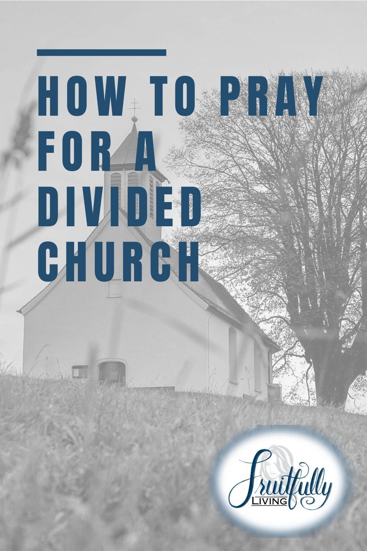 pray for a divided church