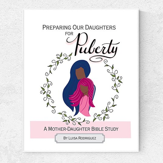 mother daughter bible study on puberty