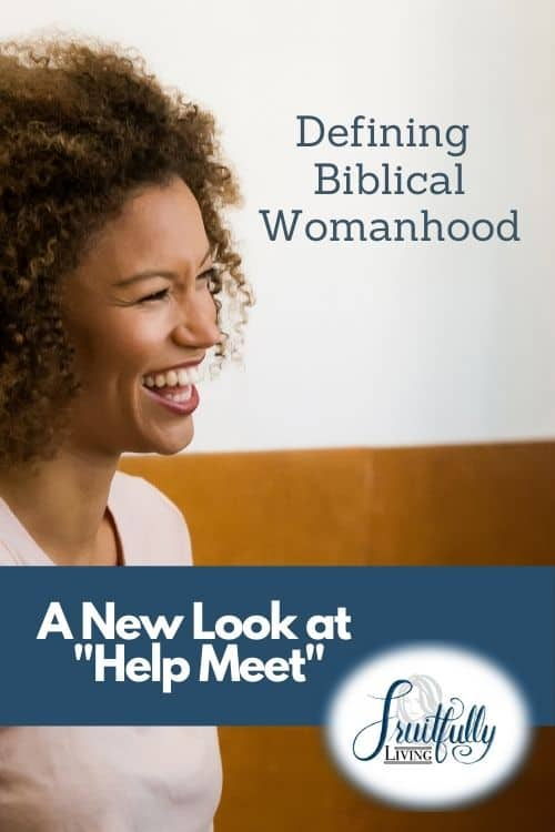 What is the meaning of helpmeet, biblical womanhood image