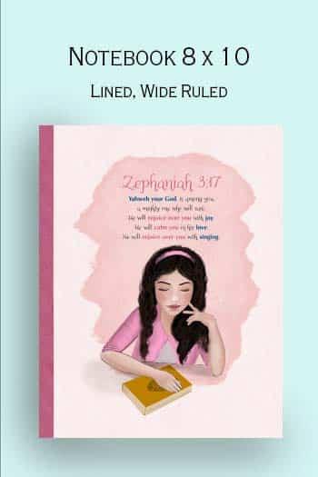 christian gift for girls, Zephaniah  3:17